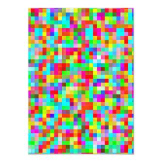 Bright Pixel Pattern Card