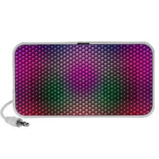 Bright Plaid Mp3 Speakers