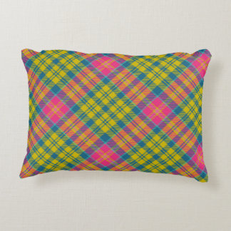 Bright Blue Decorative Pillow : Blue And Yellow Accent Pillows Zazzle