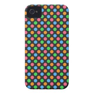 Bright Polka Dot - Blackberry Bold Case