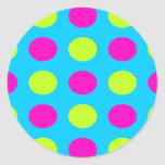 Bright Polka Dot Stickers