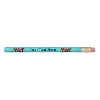 Bright Pop Art Egytian Scarab Muli colored Beetle Pencil