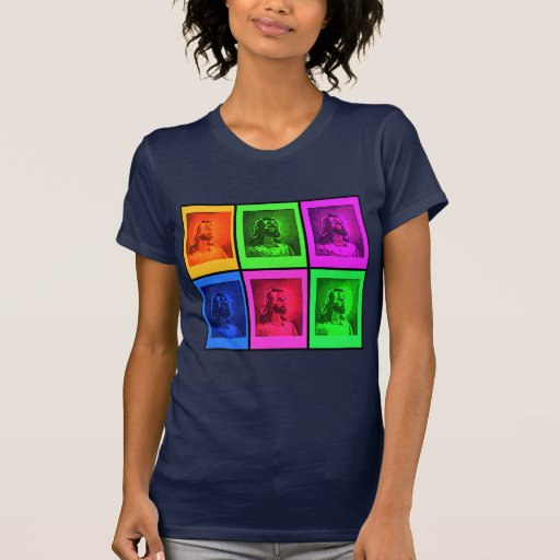 Bright Pop Art Jesus on Tshirts, Gifts