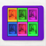 Bright Pop Art Jesus on Tshirts, Gifts Mouse Pad