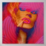 Bright Pop Art poster