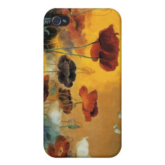 Bright Poppy Flower Iphone Case