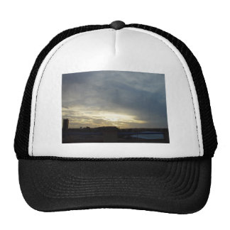 Bright Pre-Sunset Sky Glow Over Burns Beach At Wes Trucker Hats