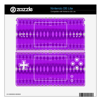 Bright Purple Abstract Pattern DS Lite Decal