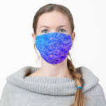 "Bright Purple and Blue Van Gogh Style Sun and Sky Adult Cloth Face Mask<br><div class=""desc"">Bright purple, pretty pink, and vivid blue Van Gogh style sun and sky swirls pattern masks. Tags: ""bright purple vivid blue pink"", ""classic van gogh sun sky"", ""colorful cheerful wavy swirls mask"", ""artistic waves art pattern"", ""fun artistic style prints"", ""cute vintage print fashion masks"", ""whimsical playful quarantine style"", ""funny masks...</div>"