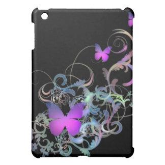 Bright Purple Butterfly iPad Mini Covers