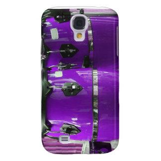 Bright purple conga drums photo samsung galaxy s4 case