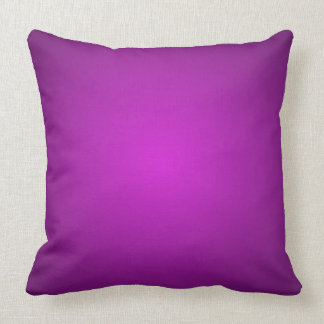 Bright Purple Dimensional 3D Spectrum Decor Pillow
