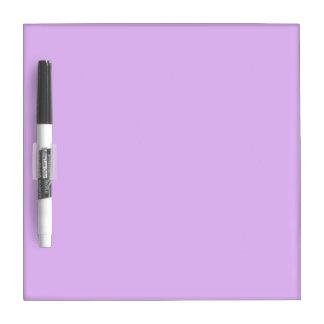 bright purple do it yourself design template Dry-Erase board