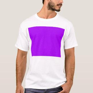 bright purple do it yourself design template T-Shirt