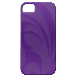 Bright Purple Flourish iPhone 5 Case