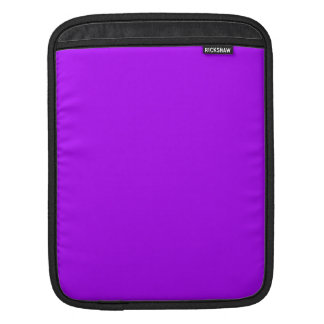 Bright Purple Fuchsia Neon Purple Color Only Sleeves For iPads