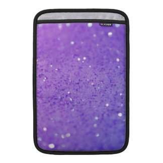 Bright Purple Glitter - Shiny, Sparkles MacBook Air Sleeve