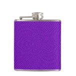 Bright Purple Mod Design Flask