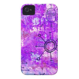 Bright Purple Orbit Case-Mate iPhone 4 Case