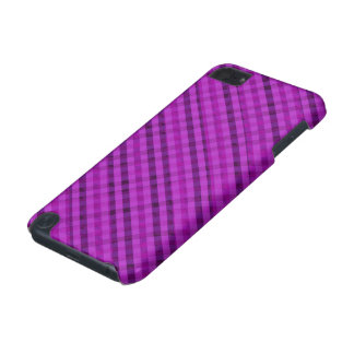 Bright Purple Plaid - Custom iPod Touch 5g Case