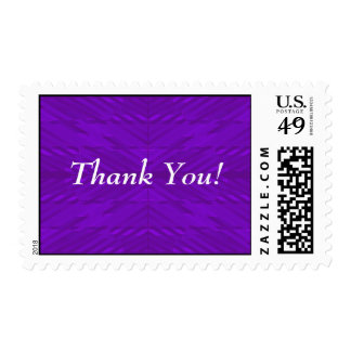 Bright Purple - Thank You Postage