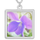 Bright Purple Violet Custom Necklace