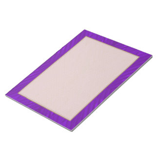 Bright Purple with Subtle Pattern Notepad