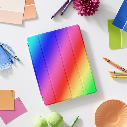 Bright Rainbow Colors iPad Smart Cover