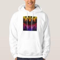 Bright Rainbow Cube Design Hoodie