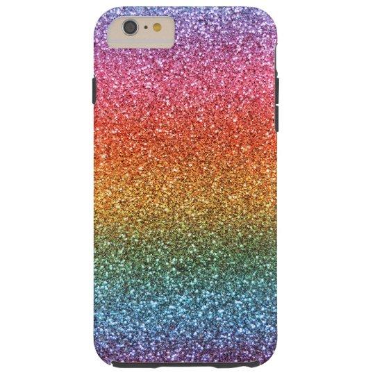 new style ff7fe 3396e Bright rainbow glitter Case-Mate iPhone case
