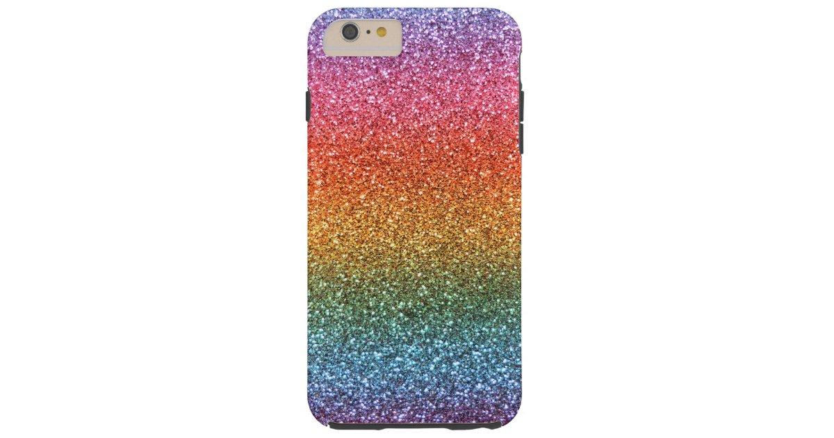 hot sale online 3aec4 69691 Bright rainbow glitter Case-Mate iPhone case   Zazzle.com