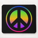 Bright Rainbow Mouse Pad