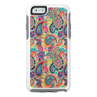 Bright Rainbow Paisley OtterBox iPhone 6/6s Case