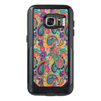 Bright Rainbow Paisley OtterBox Samsung Galaxy S7 Case