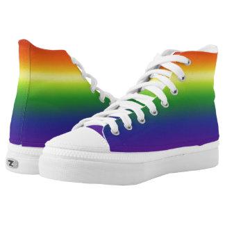 Bright Rainbow Pride HighTops High-Top Sneakers