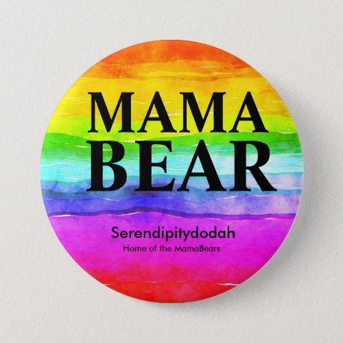 Bright Rainbow Serendipitydodah Button