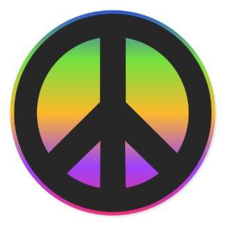 Bright Rainbow Sticker sticker