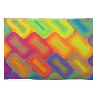 Bright Rectangles Placemat