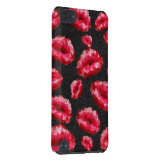 Bright Red Abstract Lips iPod Touch 5G Cover