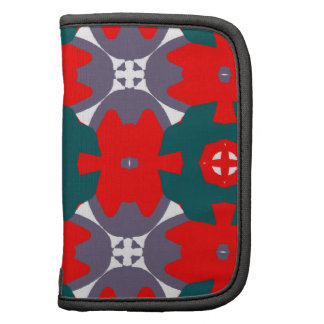 Bright Red and Green Design Organizers