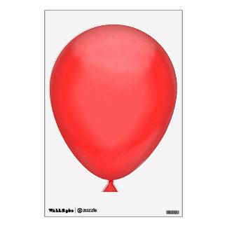 Bright Red Balloon Wall Sticker
