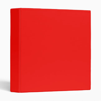 Bright Red Binder
