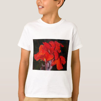 Bright red canna lily T-Shirt