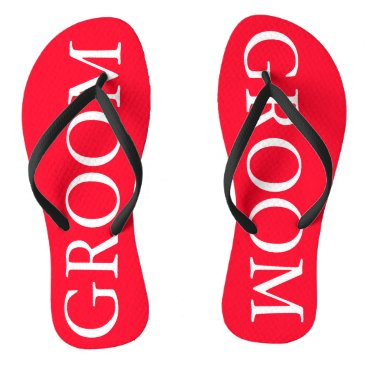 Beach Themed Bright Red Cherry Tomato - Spring 2018 London Flip Flops