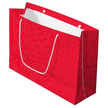 Beach Themed Bright Red Cherry Tomato - Spring 2018 London Large Gift Bag