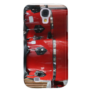 Bright red conga drums photo.jpg galaxy s4 cases