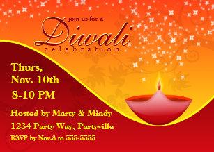 Diwali Invitations Zazzle