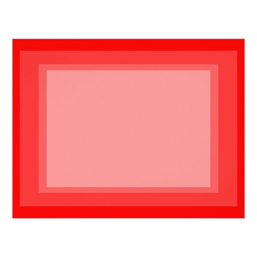 bright red DIY custom background template Letterhead