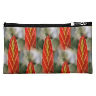 Bright Red Flaming Sword Spike Makeup Bag