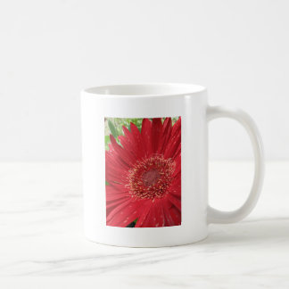 Bright Red Flower Coffee Mug